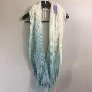 Claire's ombré infinity scarf. NWT